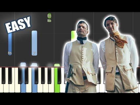 Burn The Ships - For KING & COUNTRY | EASY PIANO TUTORIAL By Betacustic - Betacustic