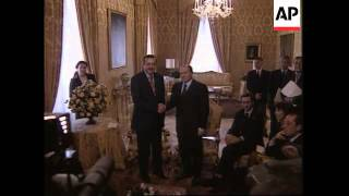 Newly-elected Turkish leader meets Italian PM