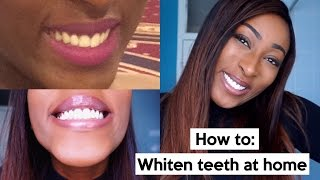 How I Whiten My Teeth At Home Fast And Cheap Free Online Videos