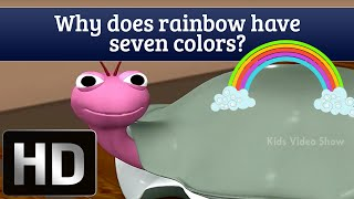 Amazing Facts For Kids | Why Does Rainbow Have Seven Colors?