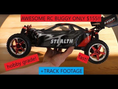 AWESOME RC 1:10 Scale Dirt Buggy for ONLY $155!! HSP 1/10 SCALE RC 4WD BUGGY – REVIEW