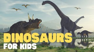 Dinosaurs For Kids | Learn About Dinosaur History, Fossils, Dinosaur Extinction And More!