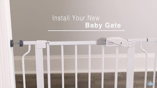 Regalo Baby Easy Step® Pressure Mount Assembly Baby Gate (#1160)