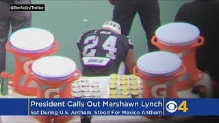 Trump Slams Raiders Player Who Sat For US Anthem, Stood For Mexican Anthem Before Patriots Game