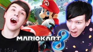 Dan vs. Phil - Mario Kart 8