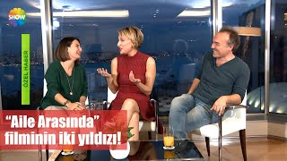 """""""Aile Arasında"""" Filminin Iki Yıldızı!"""