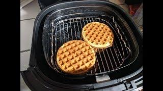 Waffles From Frozen Phillips Air Fryer XXL Digital Avance