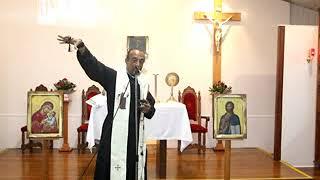 عظة الأب بولس مارديني في كنيسة سانت ريتا بعنوان لا مسيحية بدون محبة القريب