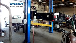 How to Install a skirted flatbed on a chassis truck