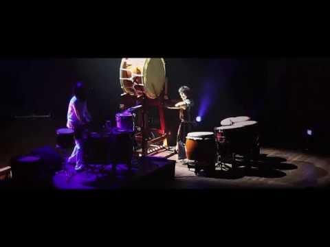 Vier percussionisten van N.E.W.S. samen met Amor Musae in De Meerpaal