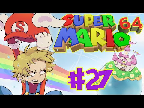 Super Mario 64 Playthrough Part 27 | 8 Red Coins in the Flooded Town