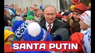 Russian Santa Claus? Putin Talks With Russian Children Attending Kremlin New Year Party