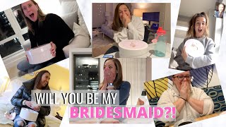 Asking My Best Friends To Be My BRIDESMAIDS *emotional*| Bridesmaids Proposal Boxes | Wedding Series