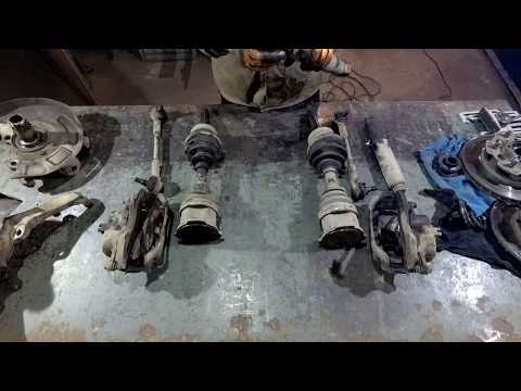 Ниссан Атлас 4х4/Nissan Atlas 4х4 РЕМОНТ часть 1 (машина для рыбалки, охоты и тайги)