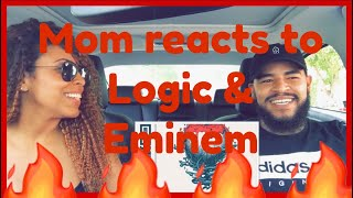 MOM REACTS TO LOGIC   HOMICIDE (FEAT. EMINEM)