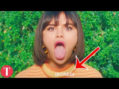 """The Hidden Truth Behind Selena Gomez """"Back To You"""" Music Video"""