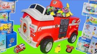 Psi Patrol zabawki - Chase, cięzarówka, strażak Marshall | Paw Patrol Toys