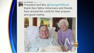 Former Pres. Bush To Be Moved From ICU