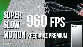 Así es el Super Slow Motion 960 fps del XZ Premium de Sony