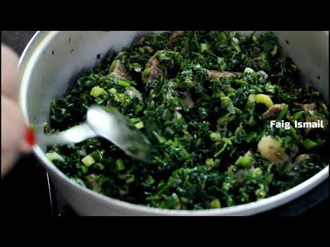 Sebzi qovurma (Сябзи ковурмa) Зелёное жаркое к плову Азербайджанская кухня