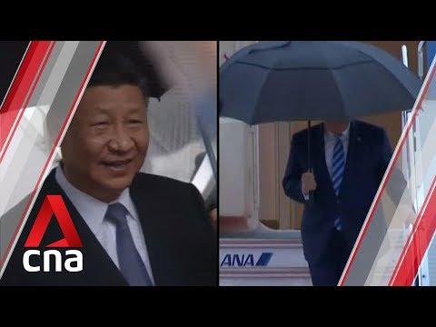 World leaders arrive in Osaka for G20 summit