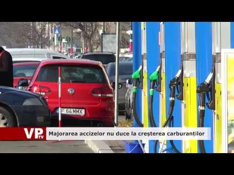 Majorarea accizelor nu duce la scumpirea carburanților