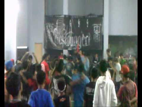 Galatic Sunset - Pesta At Hall Badminton Kali Baru Jakarta Utara.wmv