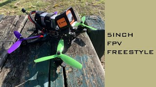 FPV Freestyle Quad Park Rip - 5 Inch Drone