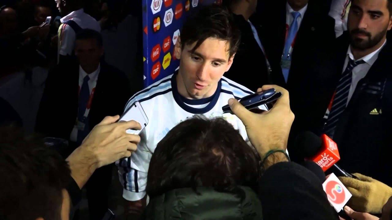 Copa América 2015: Messi: «Não fomos eliminados por pouco»