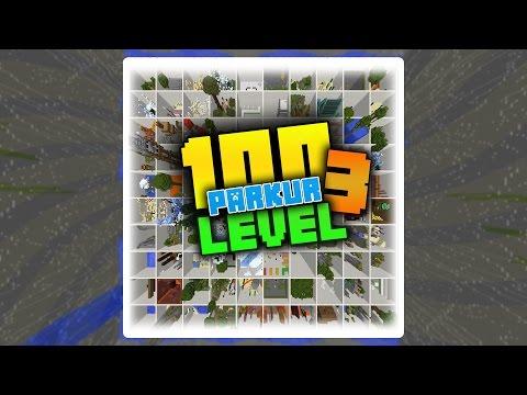 100 LEVEL PARKUR 3 ! DÜNYANIN EN İYİ PARKUR HARİTASI ! (Minecraft)