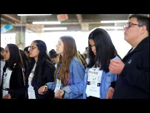 Convite de Luciana Neves para o XVI Congresso Arquidiocesano da RCC