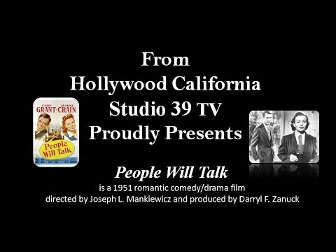"Studio 39 TV: 1951 ""People Will Talk"" WITH Cary Grant and Jeanne Crain"