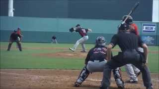 Minnesota Twins prospect Jake Reed throwing in Instructional League