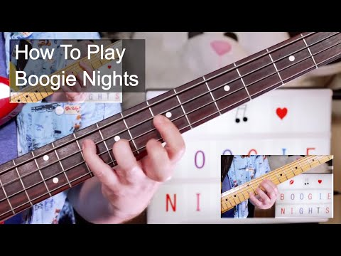 'Boogie Nights' Heatwave Guitar & Bass Lesson