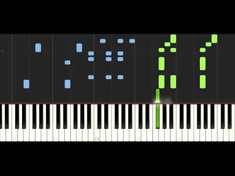Alan Walker - Darkside (feat. Au/Ra and Tomine Harket) - PIANO TUTORIAL