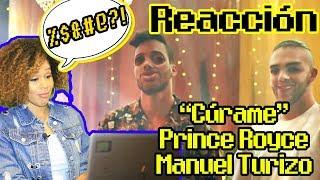 Prince Royce, Manuel Turizo   Cúrame (Official Video Reacción)