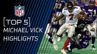 Top 5 Michael Vick Plays | NFL