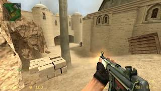 Counter Strike Source Gameplay HD 1080p   Dust 2  // moroco //