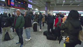 Delays & Cancellations Plague Commuters At Penn Station