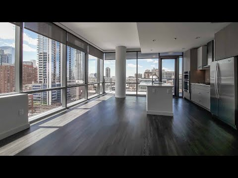 A River North two-bedroom #1411 at the amenity-rich SixForty apartments