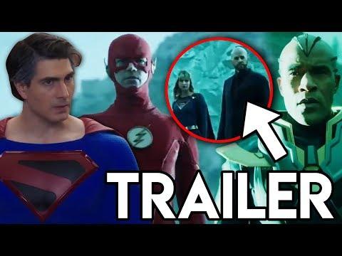 Crisis on Infinite Earths Trailer Breakdown - Lex Luthor RETURNS & Superman FIRST LOOK