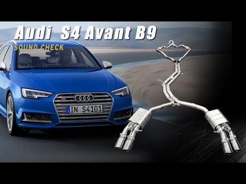The iPE FULL exhaust system for Audi S4 B9