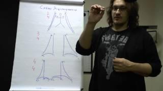 Теория музыки: басовый ключ, схемы дирижирования