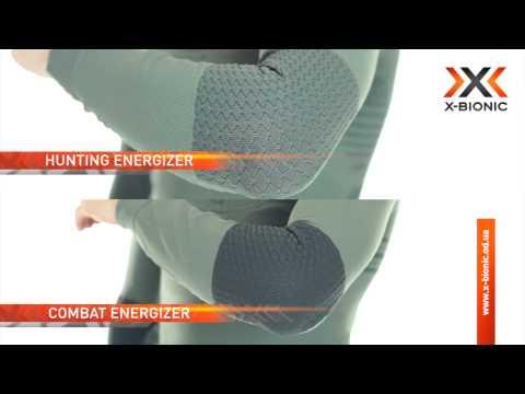 Сравнение термобелья X-BIONIC Combat Energizer™ и Hunting Energizer®