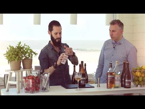 Whiskey - bier cocktail.