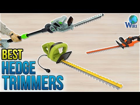10 Best Hedge Trimmers 2018