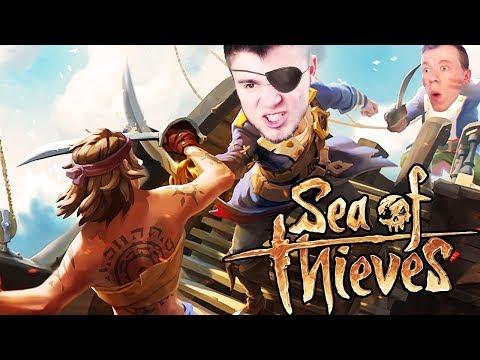 ZACZYNAMY PIRACKĄ PRZYGODĘ! | Sea Of Thieves [#1]