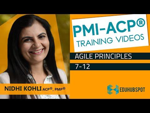 PMI ACP Exam Prep - Agile Principles 7-12 (2020 ... - YouTube