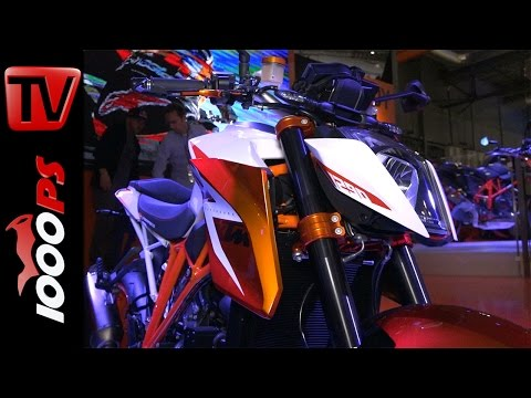 KTM 1290 Super Duke Special Edition & Duke R 2016