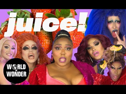 Lizzo - JUICE Music Video feat. RuPaul's Drag Race Queens